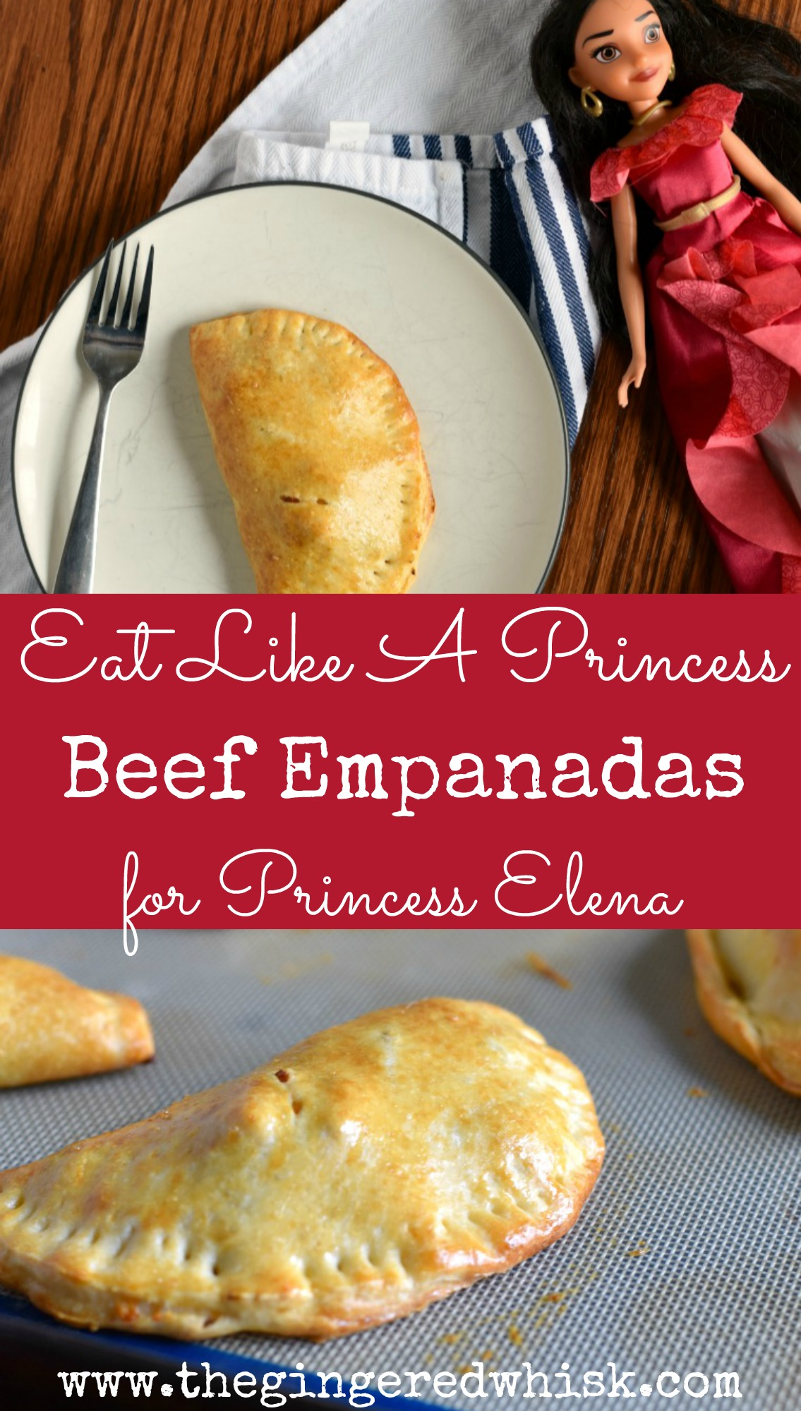 Eat Like A Princess - Beef Empanadas for Princess Elena