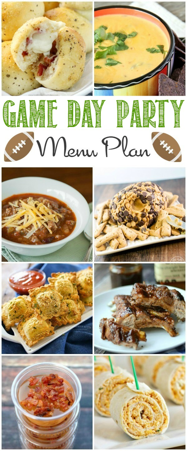Hosting a game day party? Everything you need is right here! From appetizers to desserts, you don't need to look anywhere else!