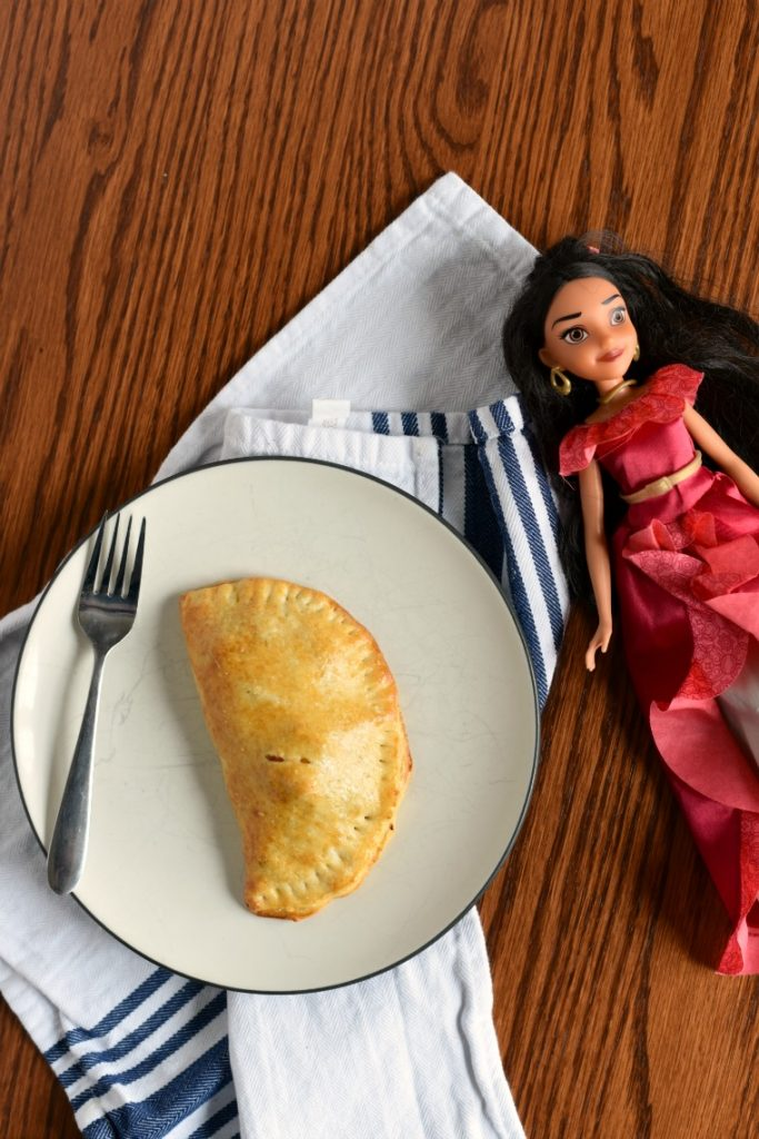 Eat Like A Princess - Princess Elena Beef Empanadas