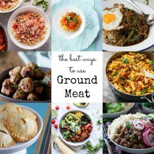 best ways to use ground meat