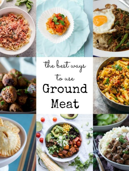 best ways to use ground meat