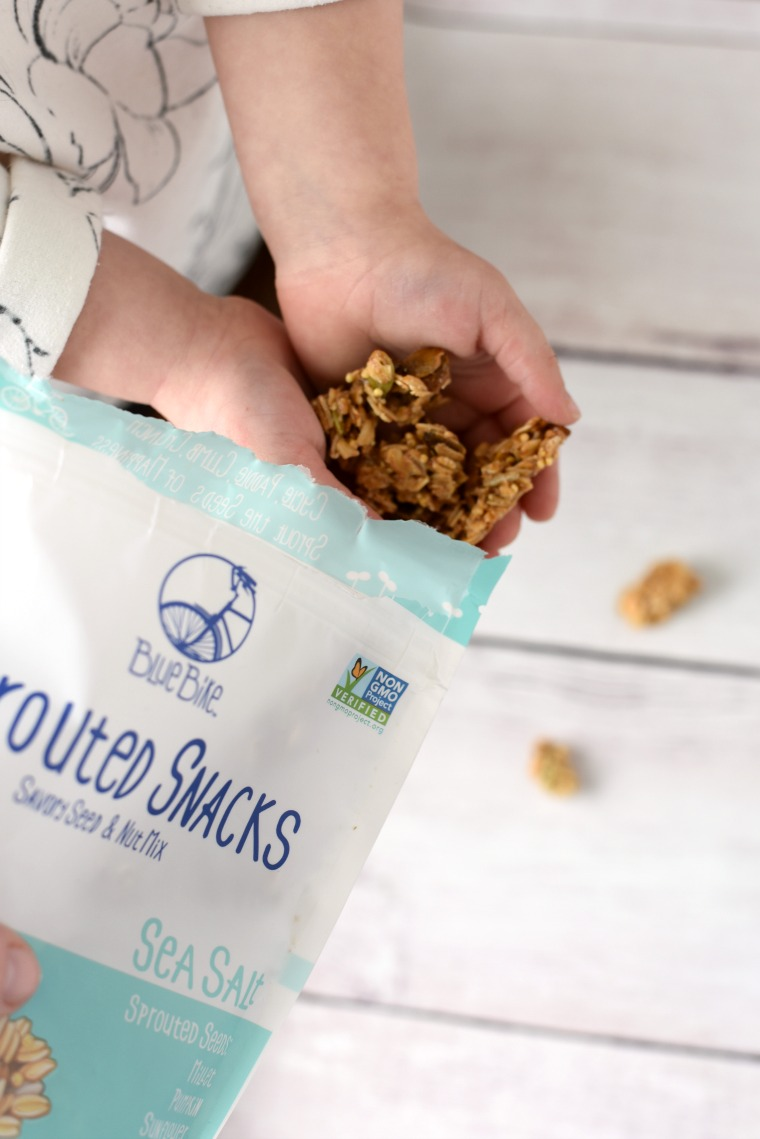 sprouted snacks on the go