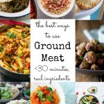 best ways to use ground meat - 30 minutes and real ingredients