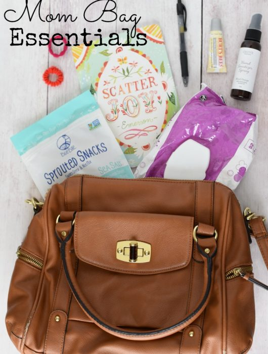 Mom Bag Essentials - what to carry when you no longer need a diaper bag