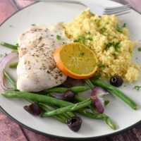 Sheet Pan Za'atar Chicken and Orange Couscous
