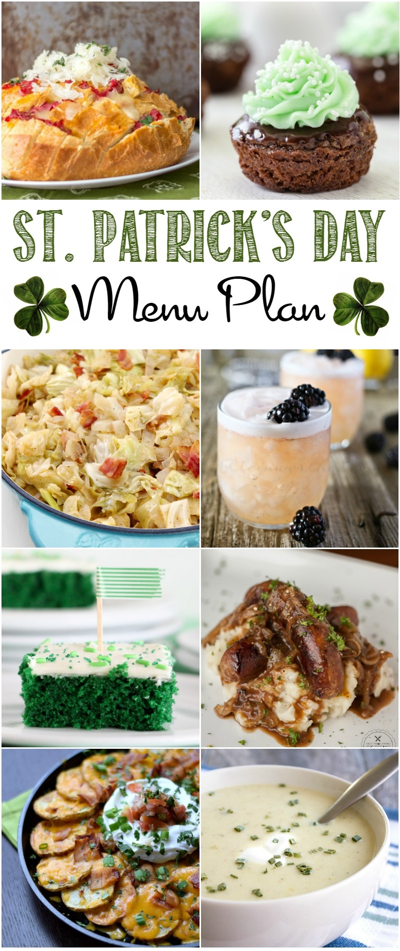 Have a lovely St. Patrick's Day with this fantastic meal plan designed just for this special day!