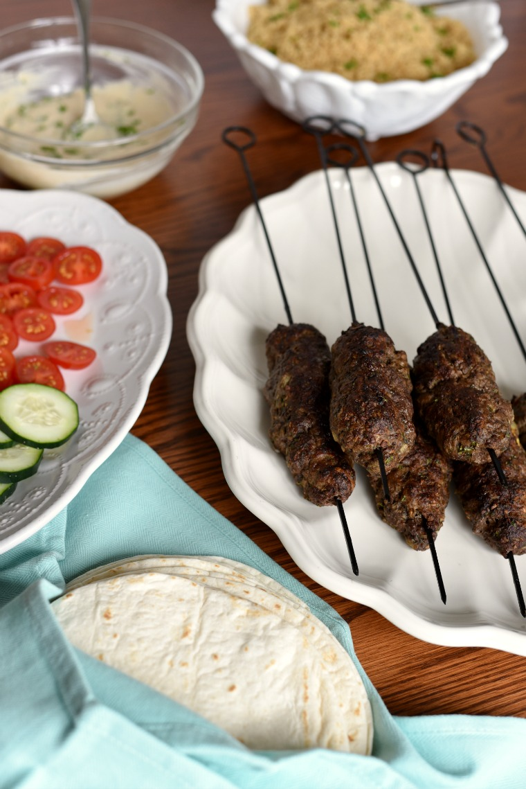 Easy Beef and Lamb Kofta