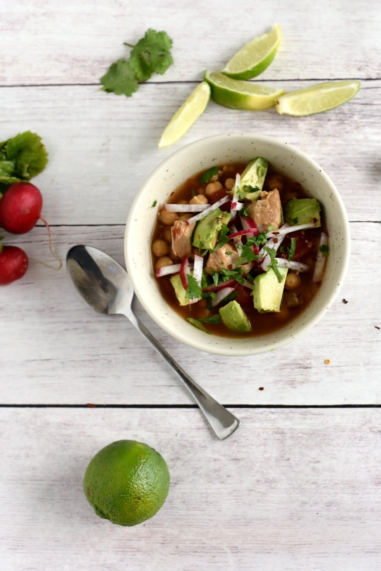 Slow Cooker Pork Posole