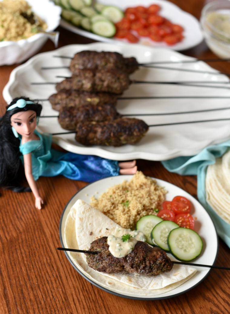 Princess Jasmine Recipe