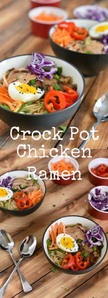 crock pot chicken ramen