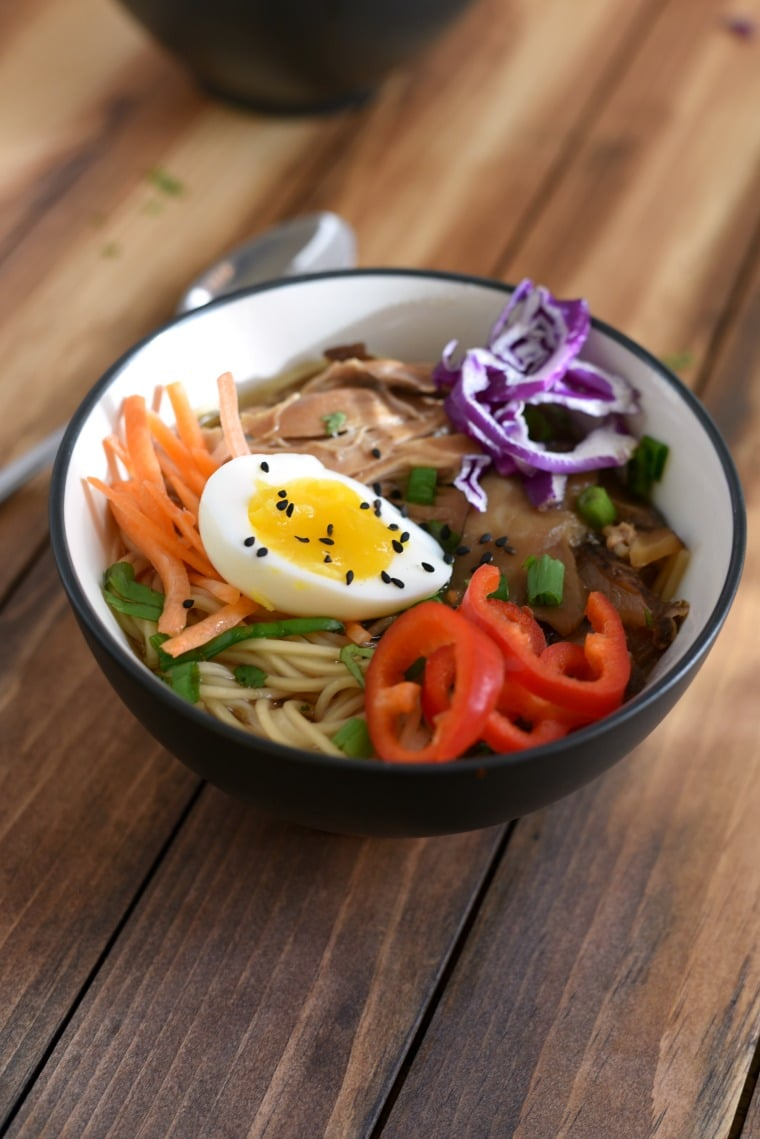Crock Pot Ramen - Easy Budget Meal