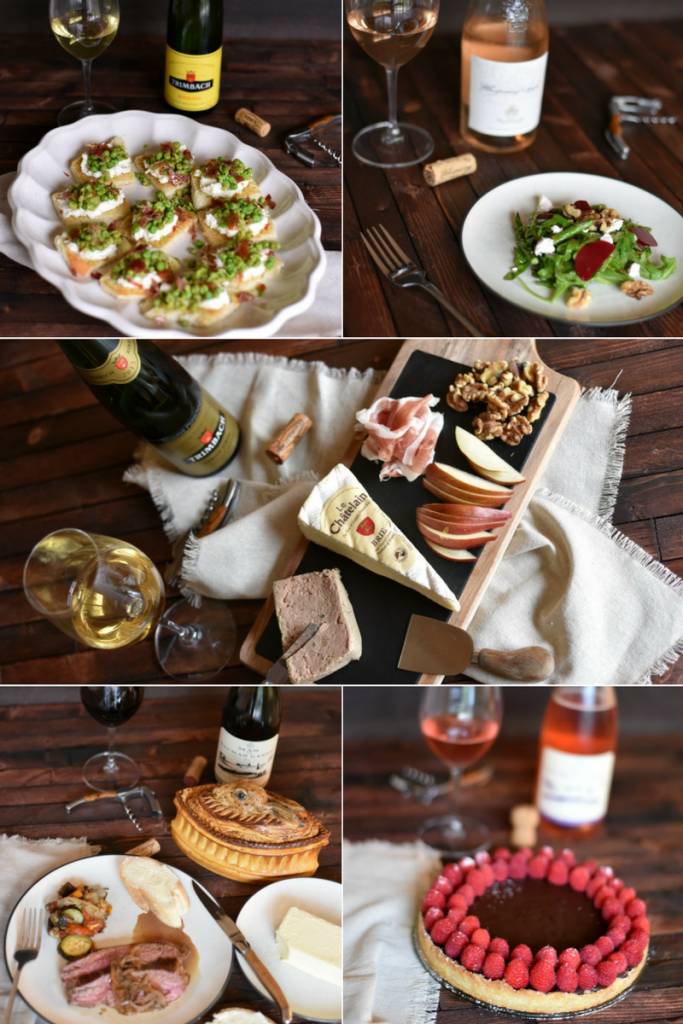 Easy and Simple 5 Course French Dinner Party Menu