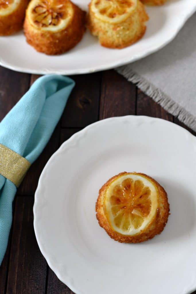Lemon Cakes Recipe