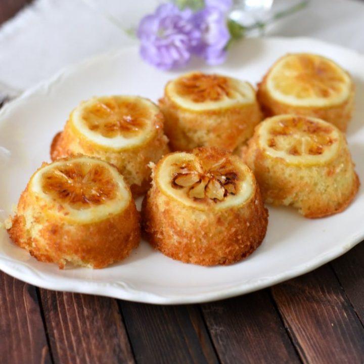 Easy Lemon Cakes