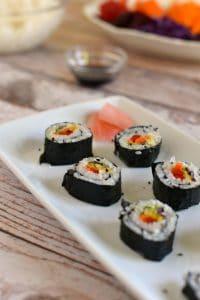 rainbow-veggie-sushi