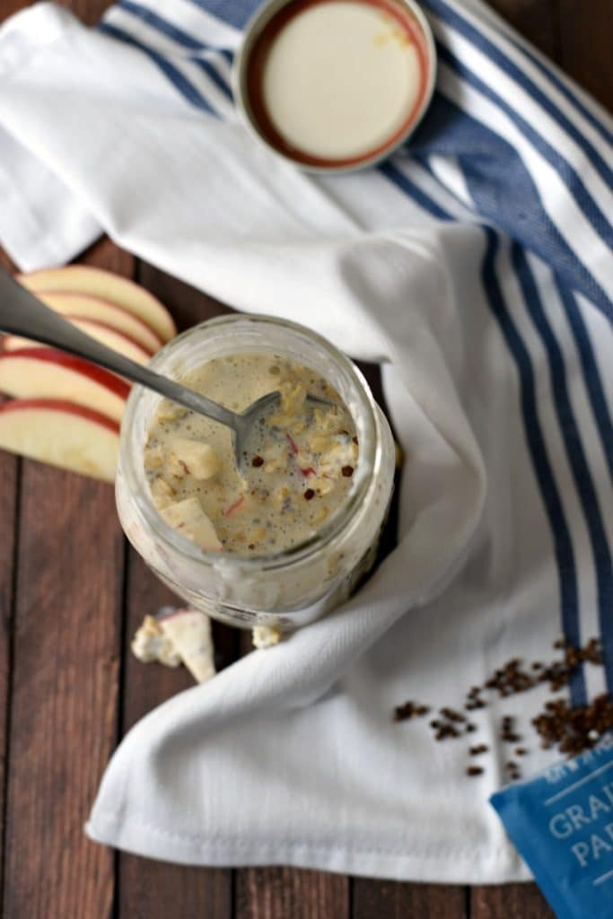 Apple Overnight Oats Recipe