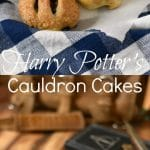 Harry Potter Cauldron Cakes
