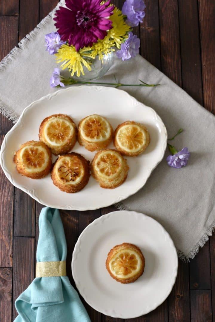 Sansa Stark Lemon Cakes