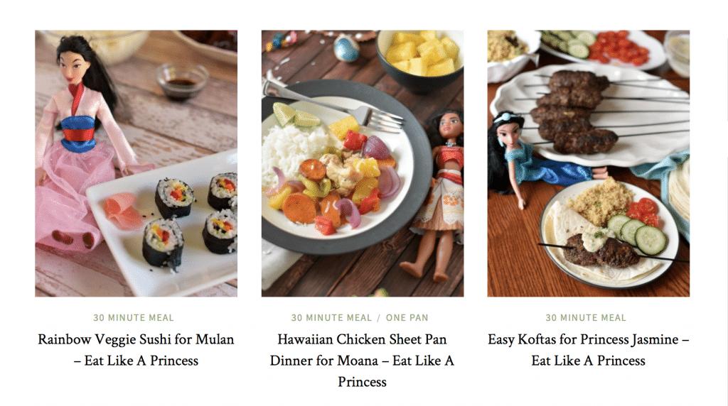 Eat Like A Princess Series Recipes