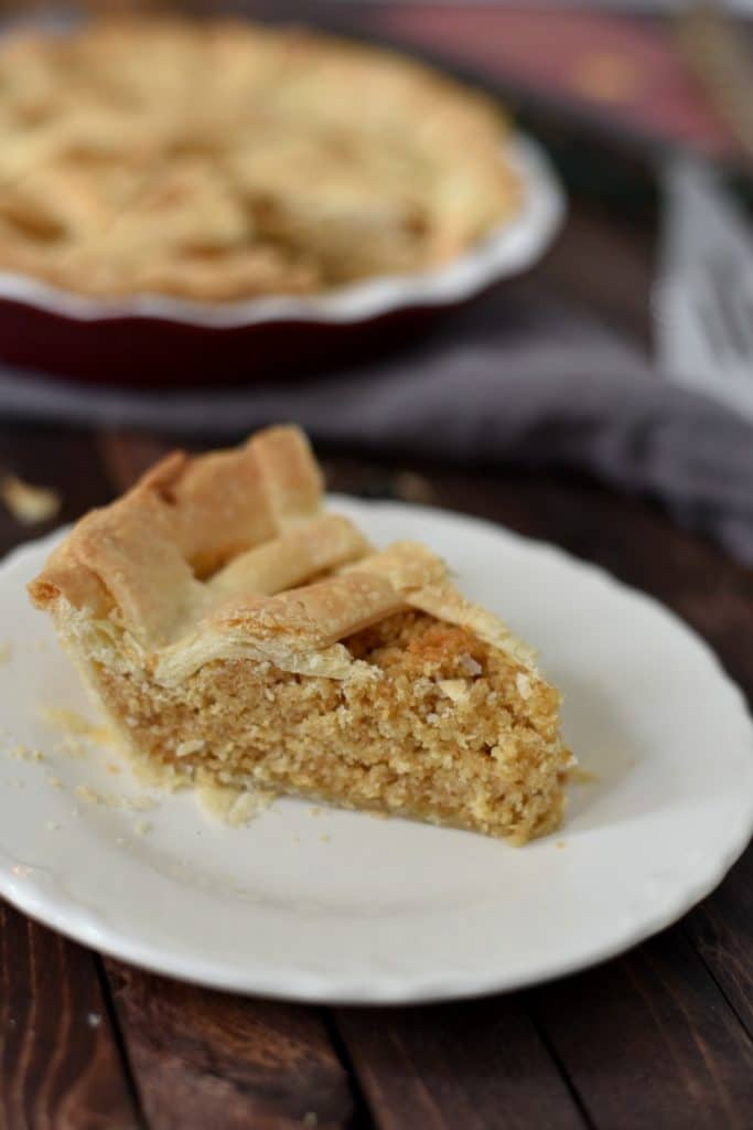 Treacle Tart Recipe Inspired by Harry Potter