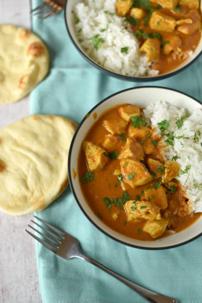 Super Easy Chicken Tikka Masala - The Gingered Whisk