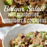 Bulgar Salad recipe