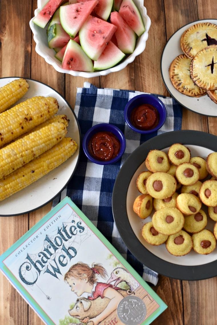 Charlotte's Web Inspired Dinner