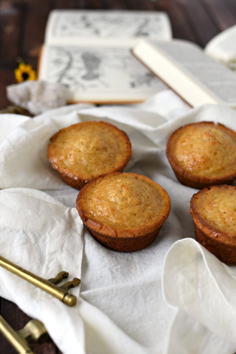 Twice Baked Honey Cakes recipe