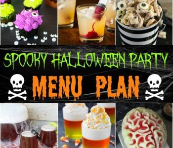 Spooky Halloween party Menu