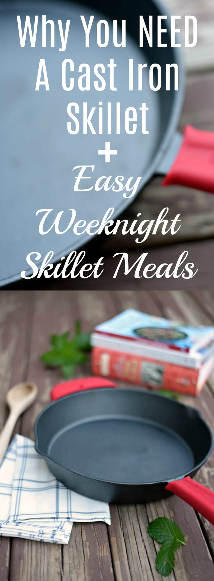 Make dinner easier with this awesome selection of easy and delicious cast iron skillet meals! Perfect for any night of the week.
