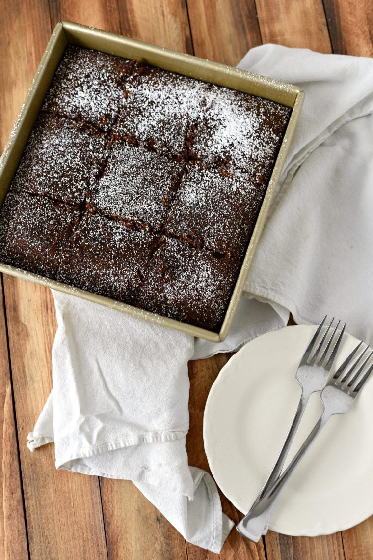 Colonial Gingerbread Cake Recipe