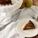 easy Pear Gingerbread