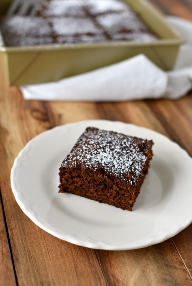 Historical Gingerbread Cake 1600 Recipe