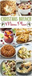 Christmas Brunch Recipe Menu Meal Plan