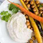 Cumin Roasted Carrots with Chickpeas