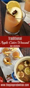 Non-Alcoholic Traditional Cider based Wassail