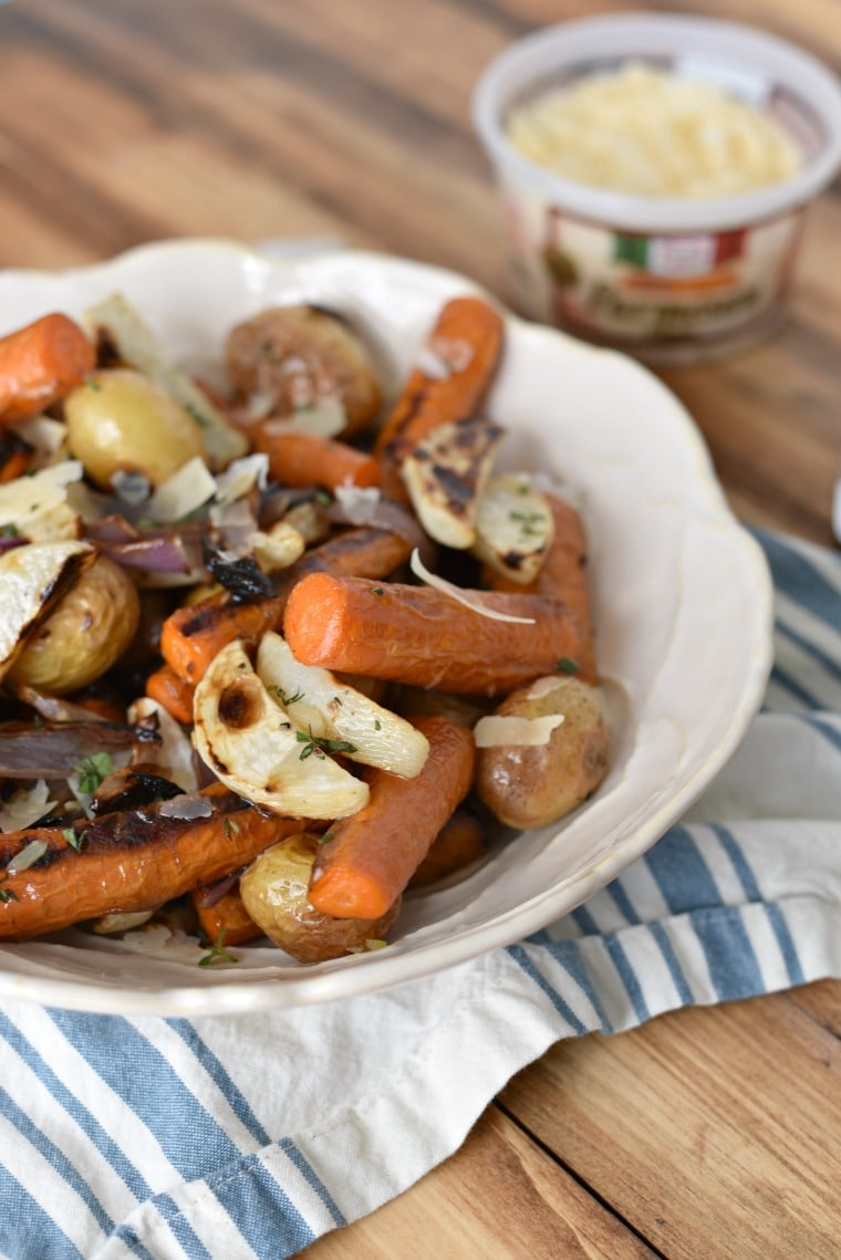 Parmesan Roasted Italian Vegetables