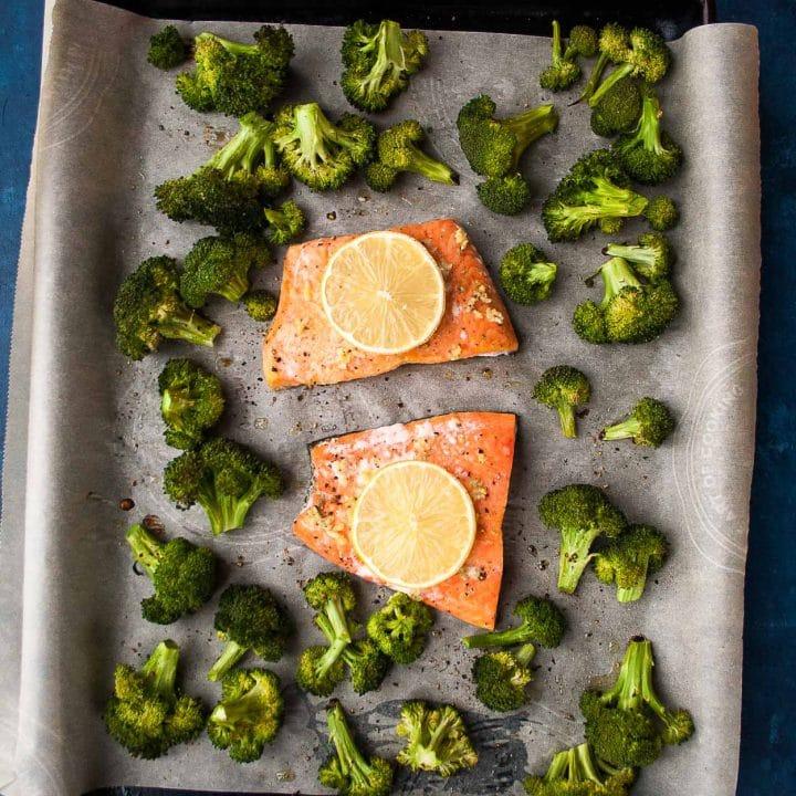 Sheet Pan Salmon recipe