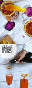 Orange Pomegranate Cocktail Recipe