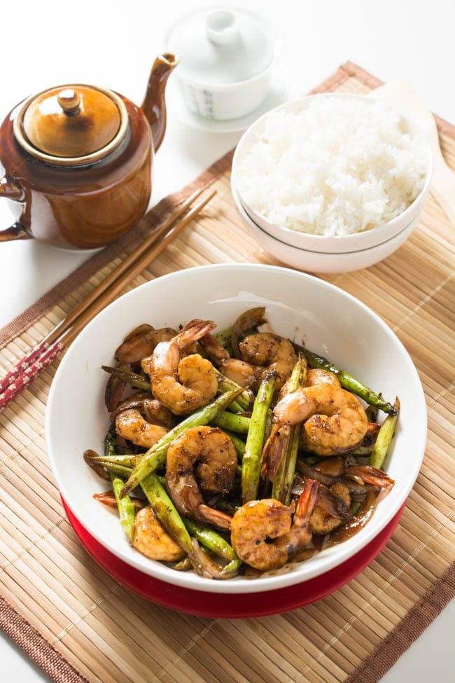 Shrimp and Asparagus Stir Fry Recipe