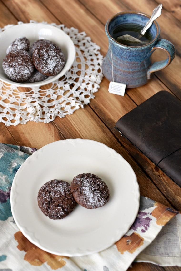 Chocolate Puff Cookie Crisps