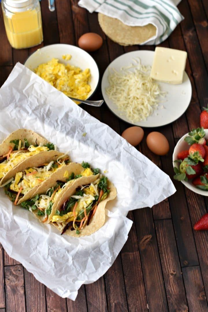 Healthy Breakfast Tacos Recipe