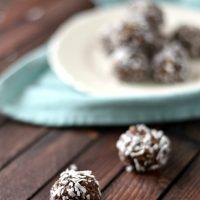 Swedish Chocolate Coconut Balls