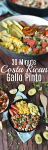 pinterest collage for gallo pinto