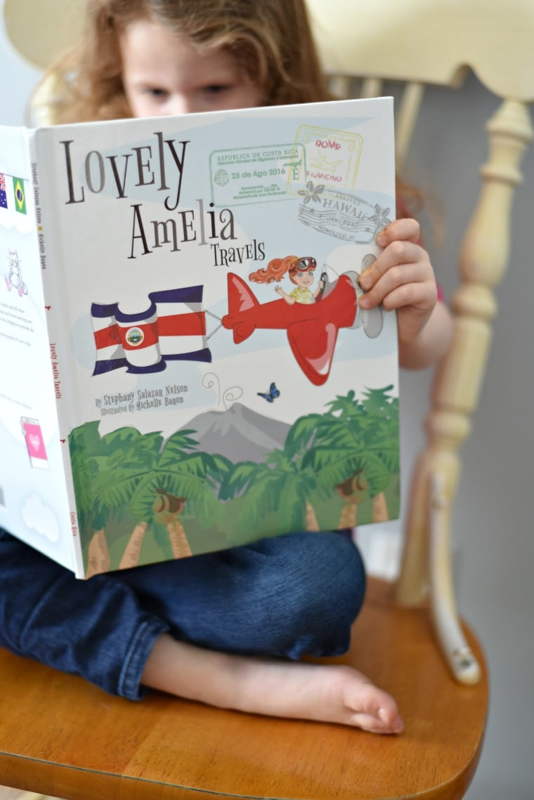 Lovely Amelia travels Book