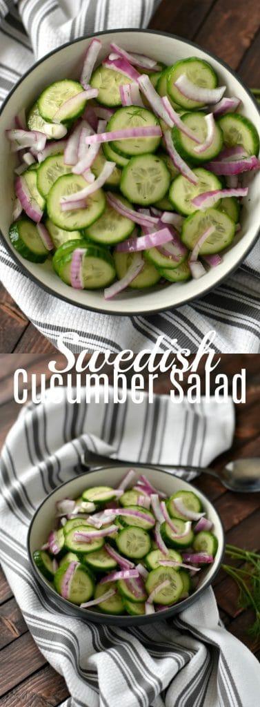 Swedish Cucumber Salad