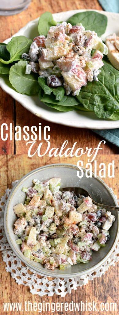 Waldorf Salad Collage Image