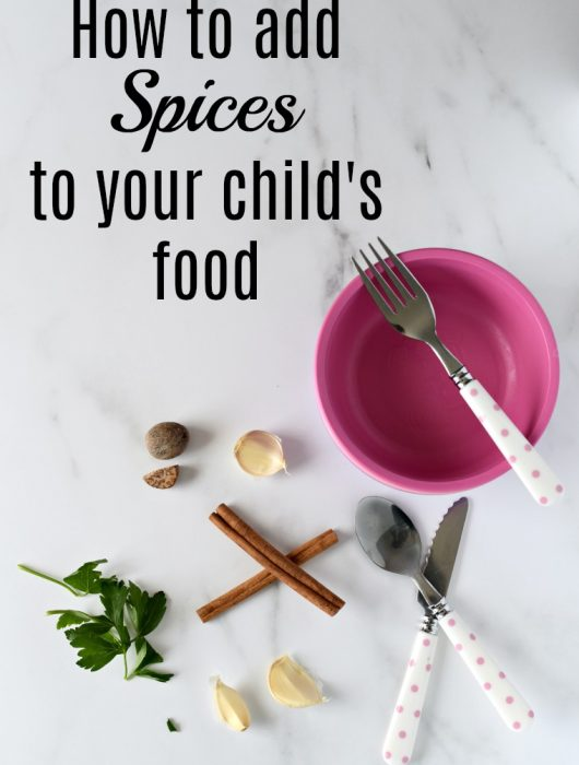 How to add spices to kids meals