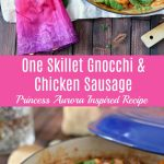 One Skillet Gnocchi and Chicken Sausage