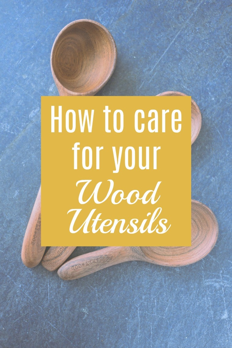 How to Care for Wooden Kitchen Utensils (the easy way)